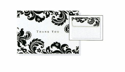 Shadow Tapestry Thank You Note