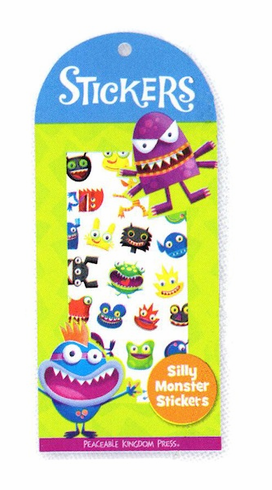 Silly Monster Stickers