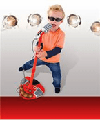 Sing Along Star Microphone, Red