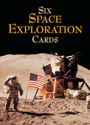 Six Space Exploration Cards