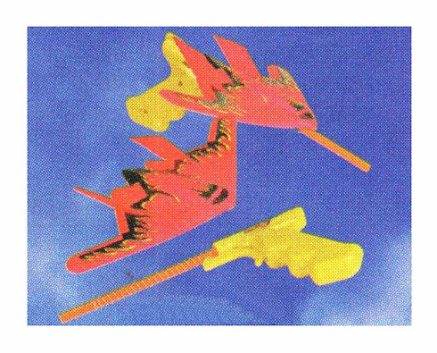 Sky Flyer Glider with Launcher
