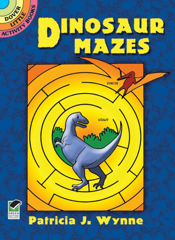 SM Activity Book: Dinosaur Mazes