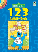 SM Activity Book: Sesame Street 123