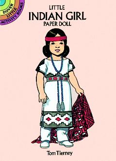 SM Paper Doll: Indian Girl