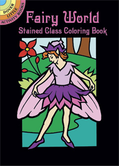 SM Stained Glass Coloring Book: Fairy World
