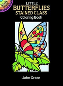 SM Stained Glass Coloring Book: Little Butterflies