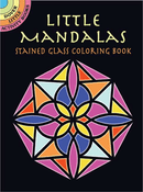 SM Stained Glass Coloring Book: Little Mandalas
