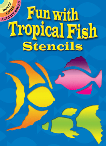 SM Stencil Book: Tropical Fish