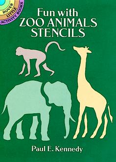 SM Stencil Book: Zoo Animals