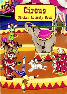 SM Sticker Activity Book: Circus