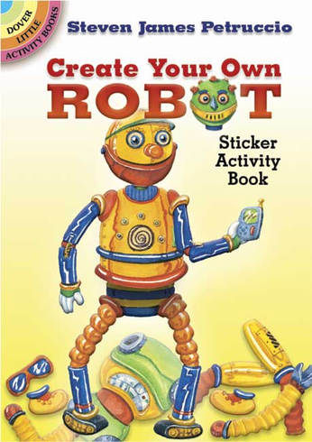 SM Sticker Activity Book: Create Your Own Robot