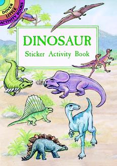 SM Sticker Activity Book: Dinosaur