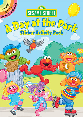 SM Sticker Activity Book: Sesame Street Day at the Park