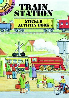 SM Sticker Activity Book: Train Station
