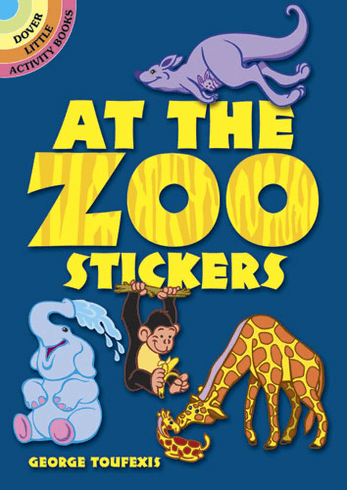 SM Sticker Book: At the Zoo