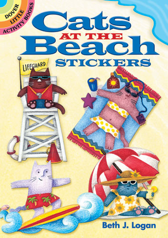 SM Sticker Book: Cats at the Beach
