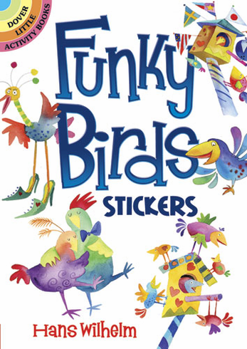 SM Sticker Book: Funky Birds