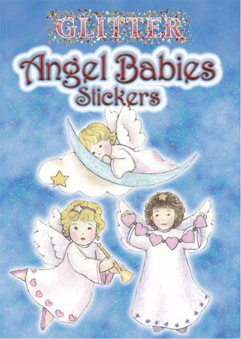 SM Sticker Book: Glitter Angel Babies