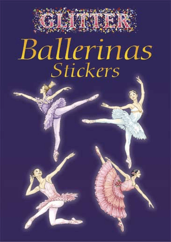 SM Sticker Book: Glitter Ballerina