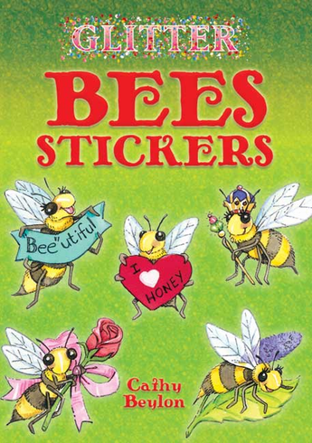 SM Sticker Book: Glitter Bees
