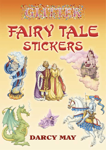 SM Sticker Book: Glitter Fairy Tale