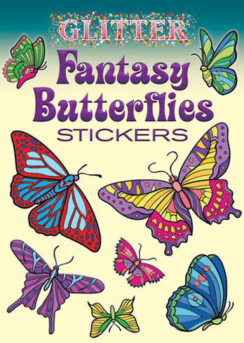 SM Sticker Book: Glitter Fantasy Butterflies