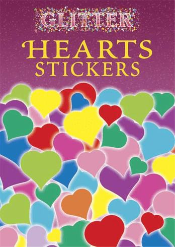 SM Sticker Book: Glitter Hearts