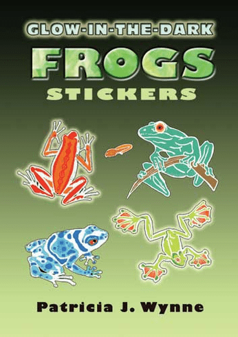 SM Sticker Book: Glow-in-the-Dark Frogs