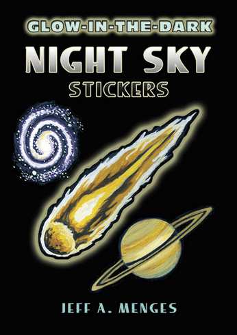 SM Sticker Book: Glow-in-the-Dark Night Sky