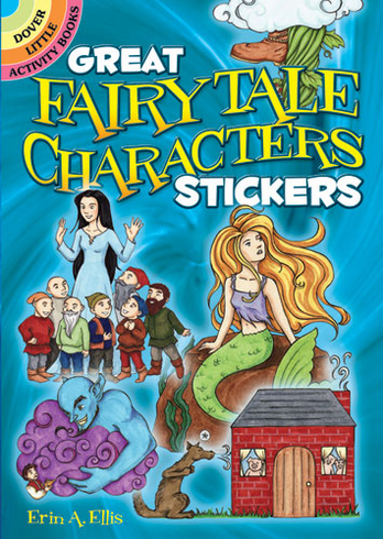 SM Sticker Book: Great Fairy Tale Characters