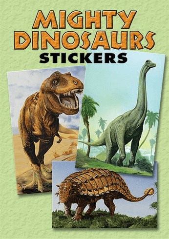 SM Sticker Book: Mighty Dinosaurs