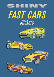 SM Sticker Book: Shiny Fast Cars