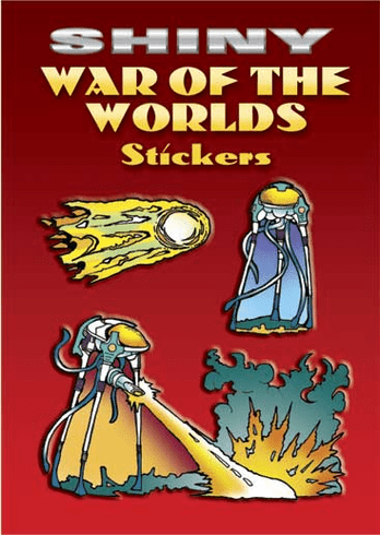 SM Sticker Book: Shiny War of the Worlds