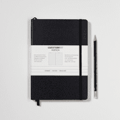 Small Black Notebook Ruled