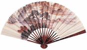 Small Mikado Paper Fan