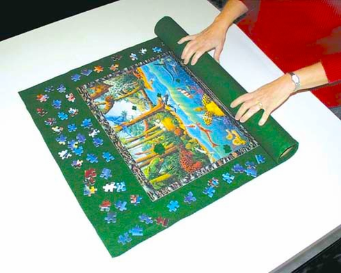 Small Rollup Puzzle Mat
