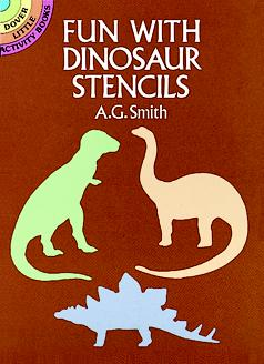 Small Stencil Book: Fun with Dinosaurs