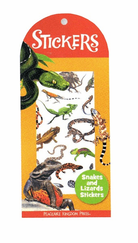 Snakes & Lizards Stickers