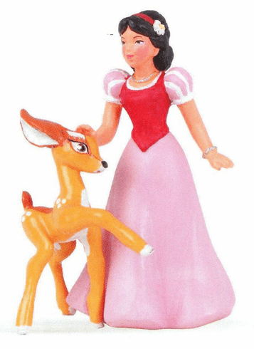 Snow White And Fawn