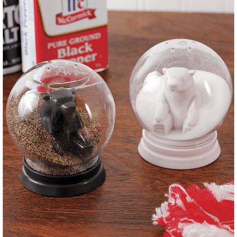 Snowglobe Salt & Pepper Shaker