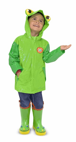 Soggy Froggy Raincoat