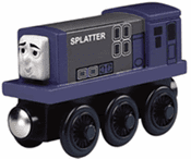 Splatter Train Engine