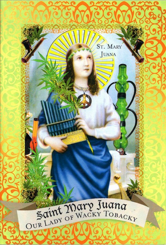 St. Mary Juana Birthday Card