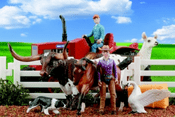 Stablemates Tractor Play Set