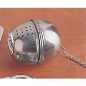 "Stainless Steel Loose Leaf Tea Ball Infuser, 1.75""x2"""