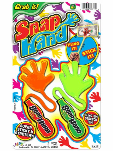 Sticky Stretchy Snap Hand