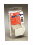 String Tags - White