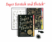 Super Scratch and Sketch Activity Book