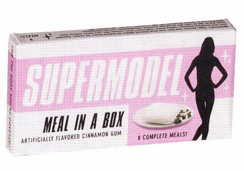Supermodel Meal in a Box Gum