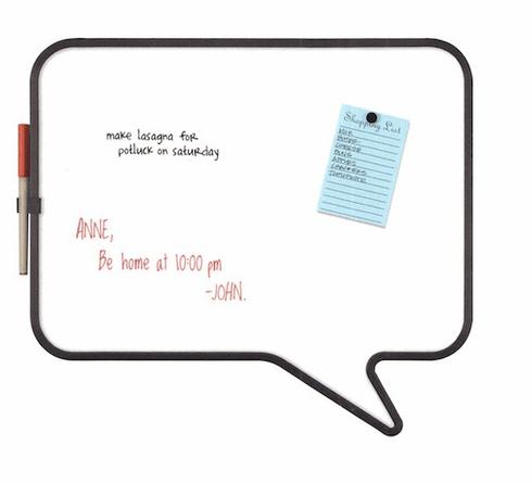 Talk Bulletin Board Wh / Bk